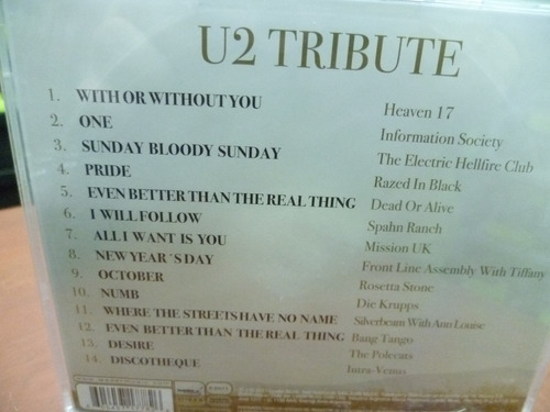 cd u2 tributo!!! - heaven 17 information mission (top music)