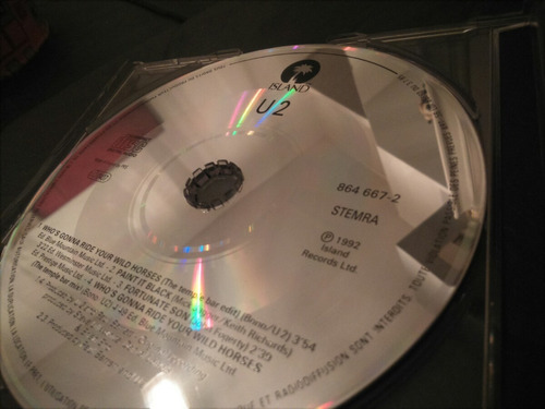 cd u2 who s gonna ride your wild horses made in france