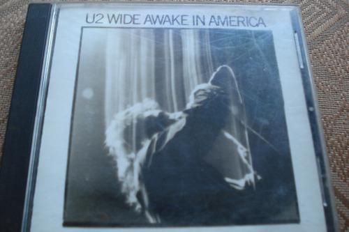 cd u2 wide awake in america