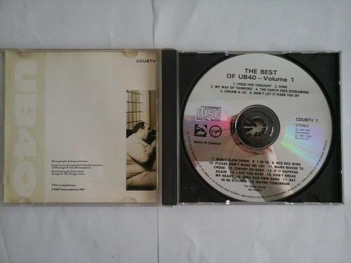 cd ub40 the best of - original excelente