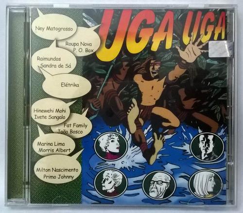 cd uga uga - coleção novelas - nunca usado!