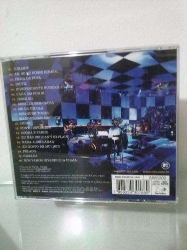 cd - ultrage a rigor - acústico mtv