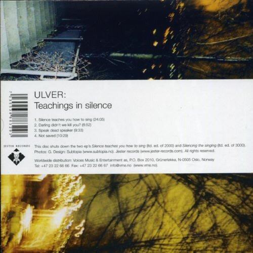 cd : ulver - teachings in silence