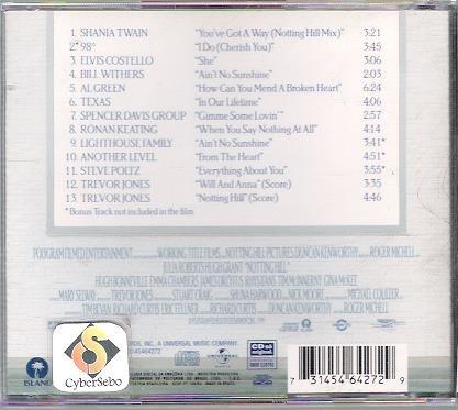 trilha sonora de um lugar chamado notting hill