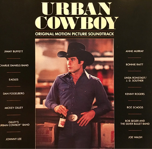 cd urban cowboy soundtrack eagles linda ronstadt importado