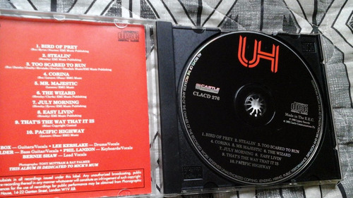 cd-uriah heep -live in moscow-importado