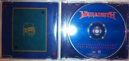 cd usado perfecto importado megadeth hits capitol bs 13.500