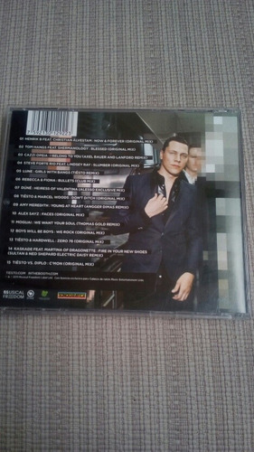 cd usado tiesto ( club life)