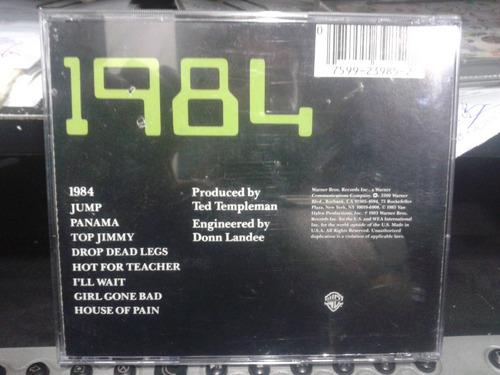 cd - van halen / 1984 - warner bros.