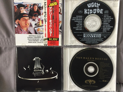 cd van halen / ugly kid joe