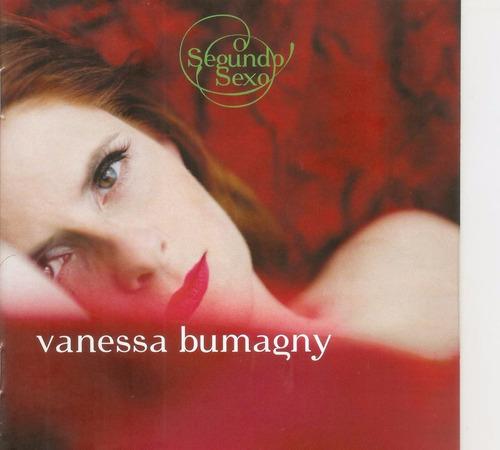 cd vanessa bumagny - o segundo sexo (lacrado)