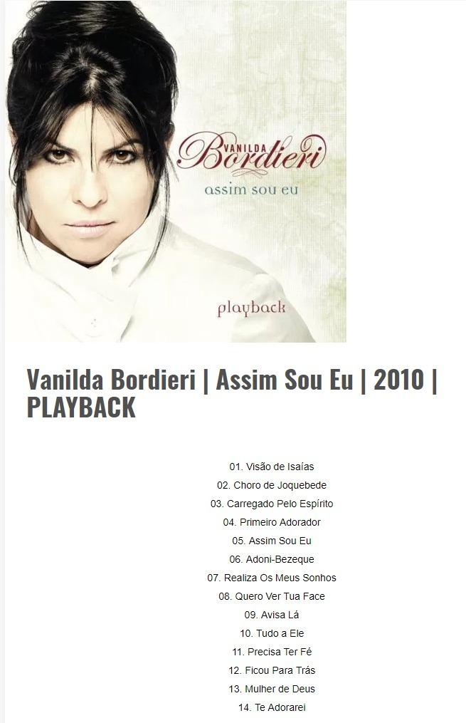 vanilda bordieri assim sou eu playback
