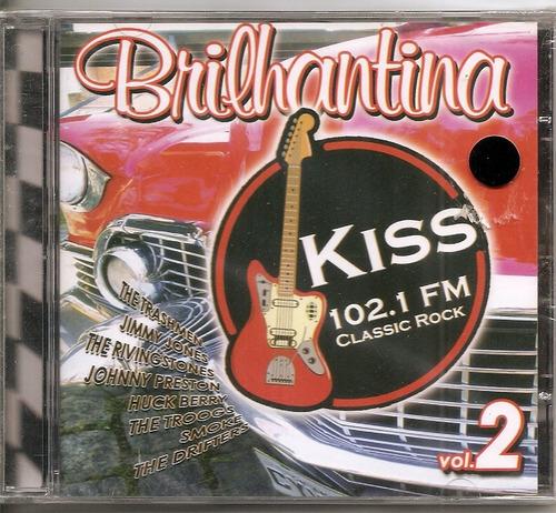 cd vários - brilhantina  kiss 102,1 f m classic rock 2