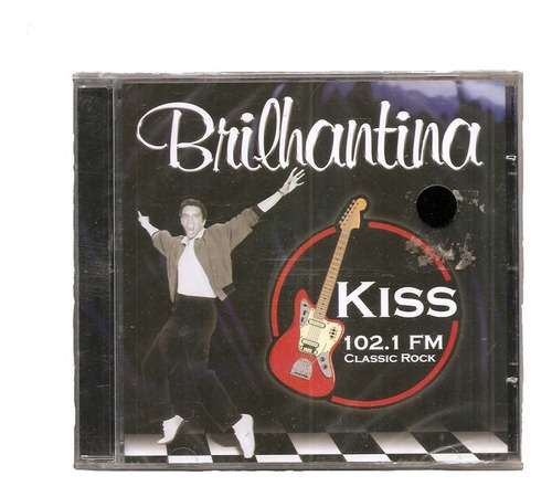 cd vários - brilhantina kiss 102.1 fm - classic rock