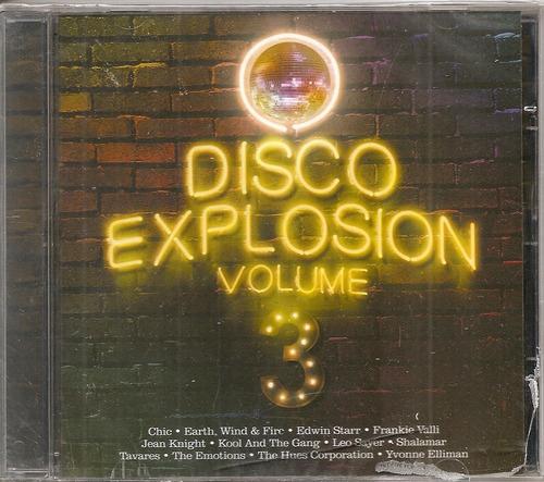 cd vários -  disco explosion volume 3