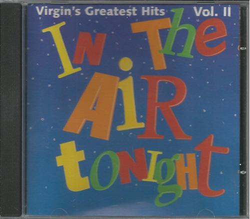 cd vários - in the air tonight vol. 2 - 1995 - coletânea