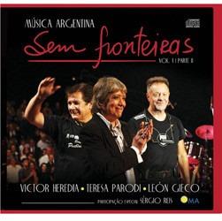 cd vários - música argentina sem fronteiras: vol. 1, pt. ii