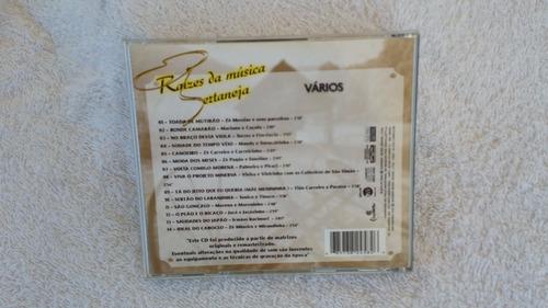 cd vários raizes da musica sertaneja ja