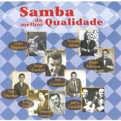 cd vários - samba da melhor qualidade
