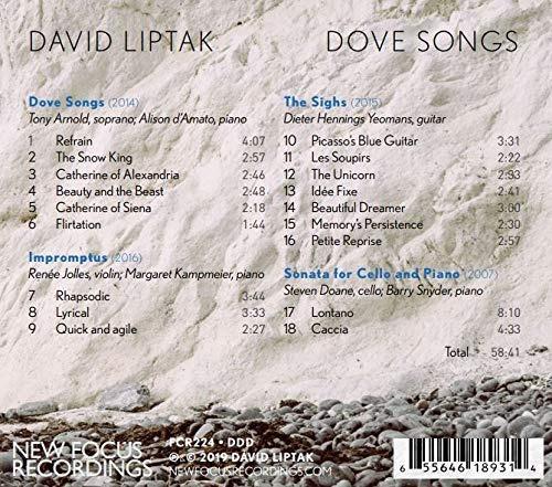 cd : various - dove songs (3 pack)