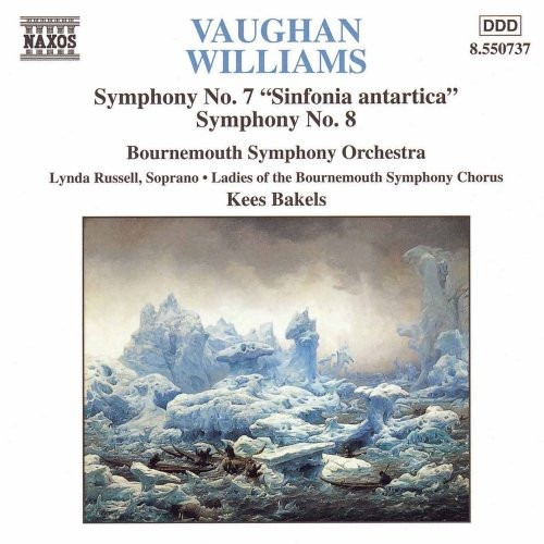 cd vaughan williams - symphony no. 7 e 8 - importado canada