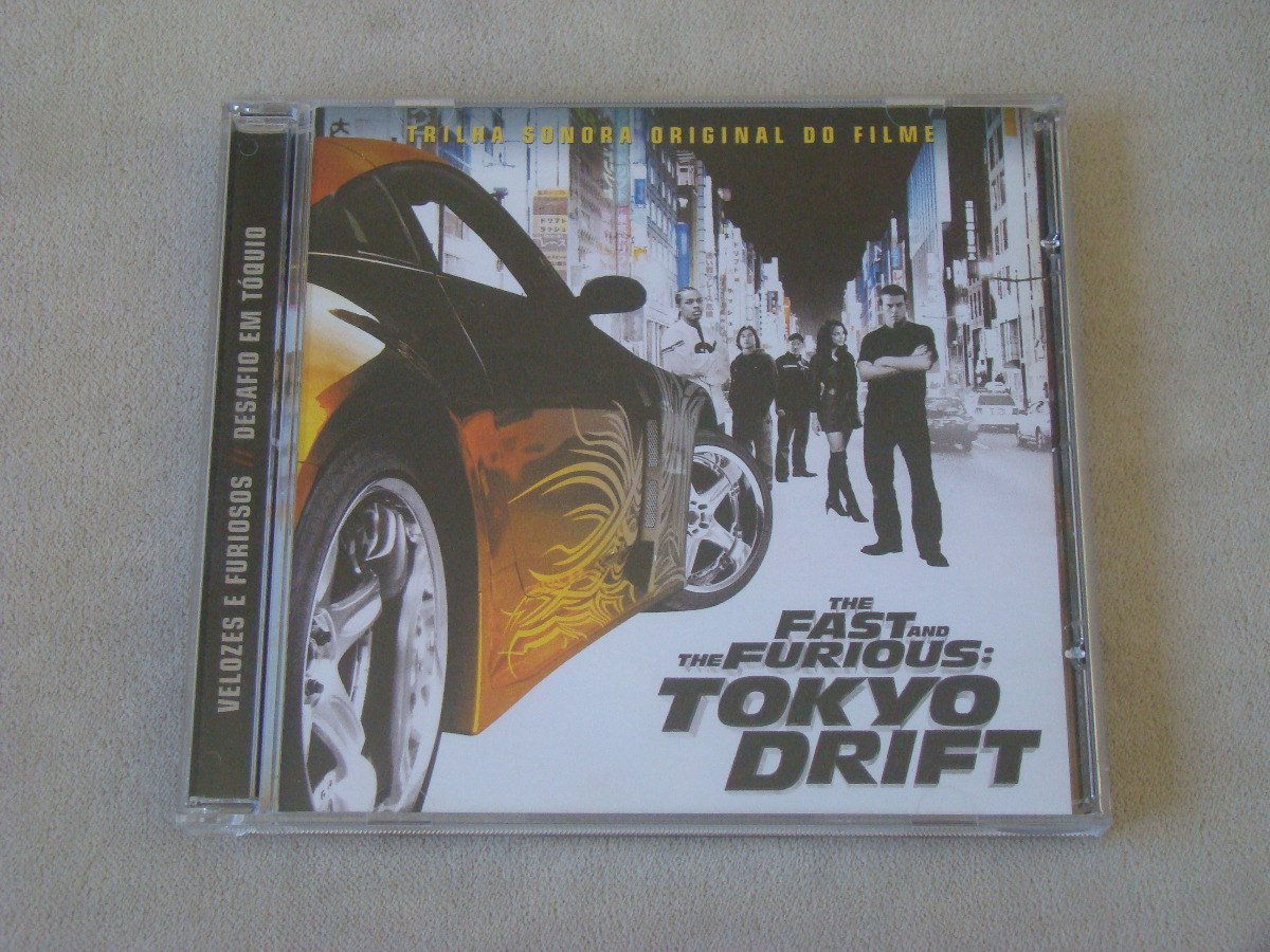cd trilha sonora velozes e furiosos desafio em tokio