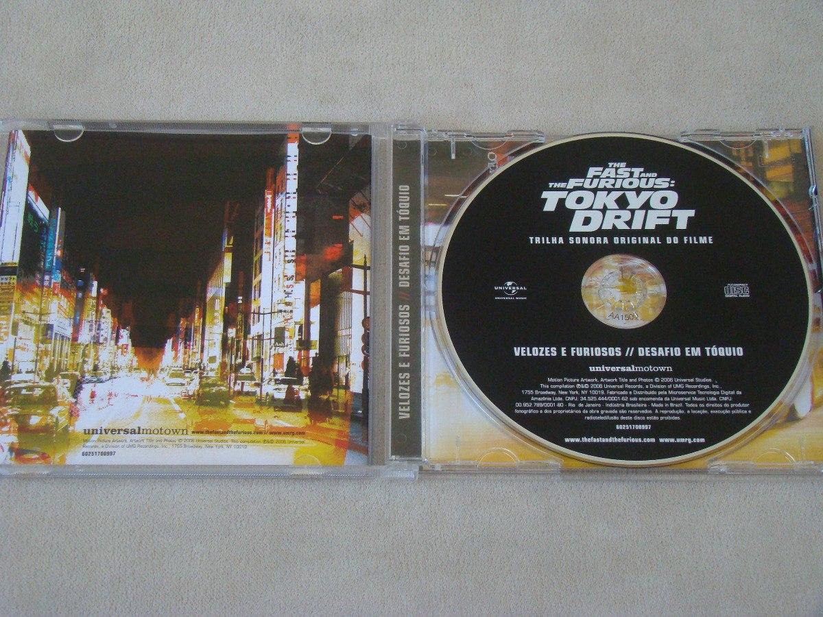 cd trilha sonora do filme velozes e furiosos 3