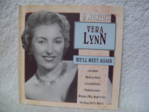cd vera lynn- the world of vera lynn- we'll meet again