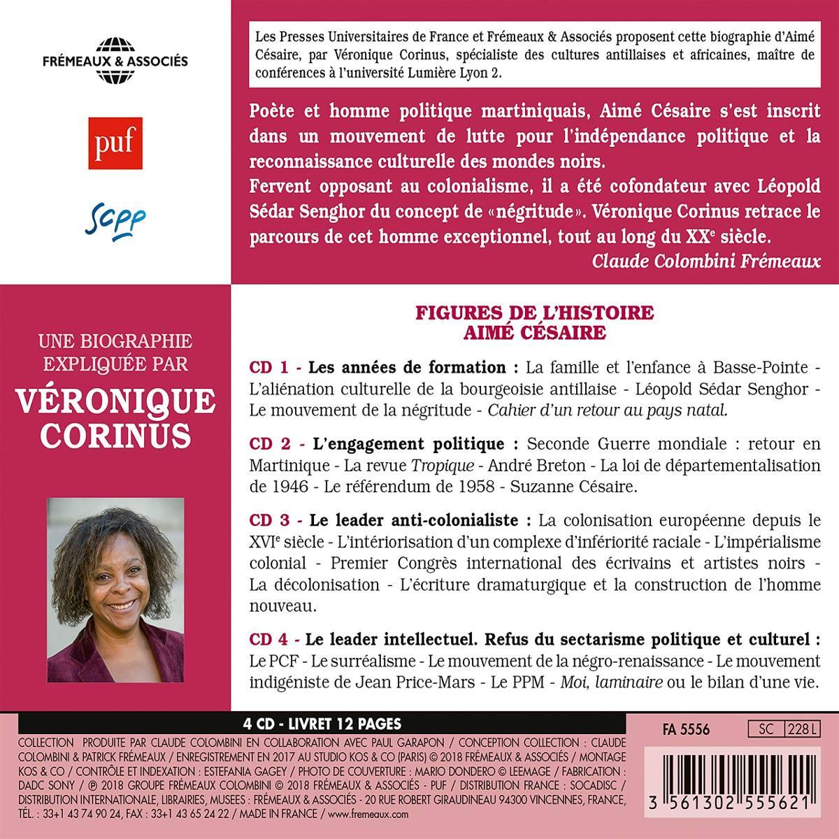 Cd Veronique Corinus Aime Cesaire 4 Pack