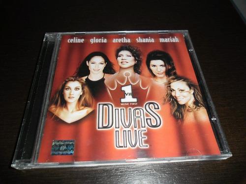 cd vh1 divas live - celine,gloria, aretha, shania, mariah