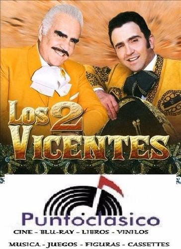 cd - vicente fernandez e hijo - los 2 vicentes