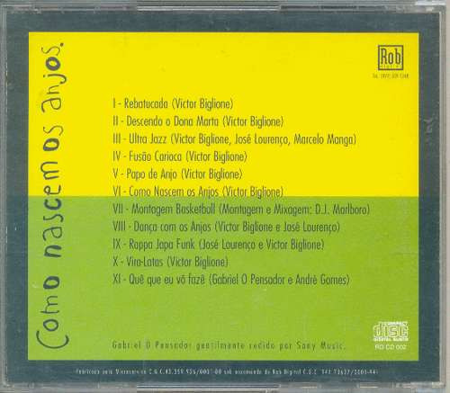 cd victor biglione - como nascem os anjos - 1996