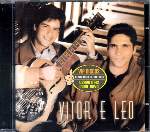 cd victor & leo - vitor e leo (2002) - excelente estado raro