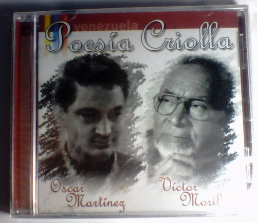 cd victor morillo - oscar martinez - poesia criolla