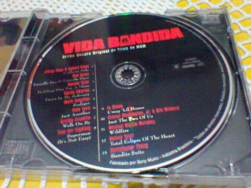 cd vida bandida / trilha sonora   -2001-  (frete grátis)