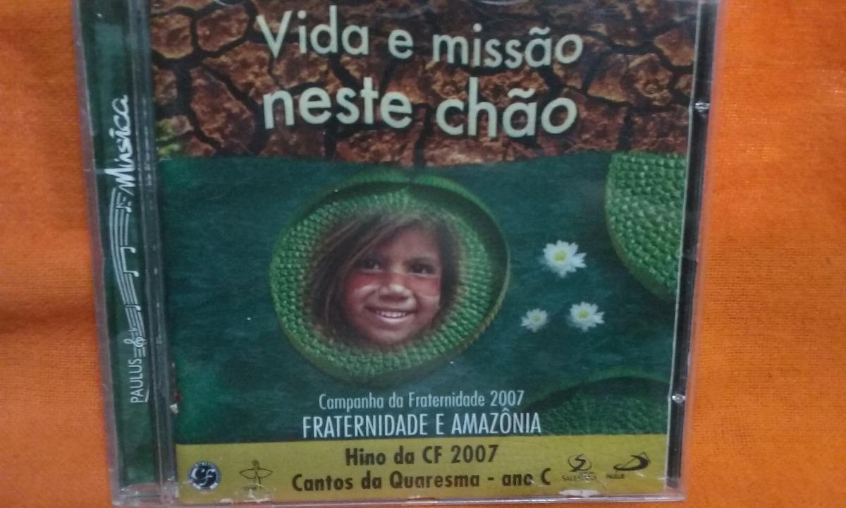 cd campanha da fraternidade 2007