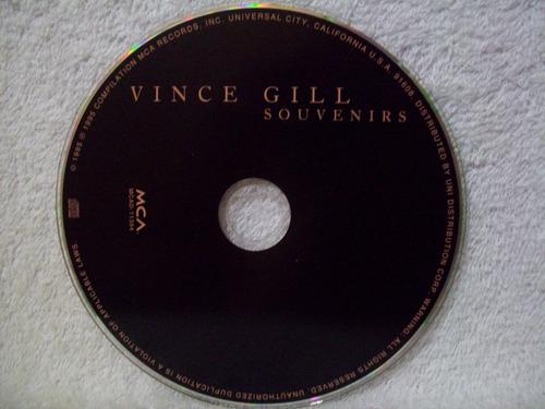 cd vince gill- souvenirs- cd importado
