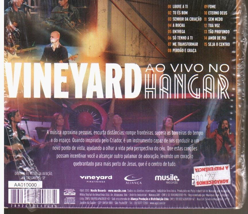 cd vineyard ao vivo
