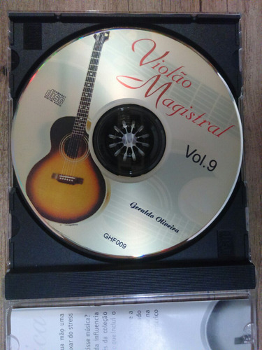 cd  violão magistral  vol.9
