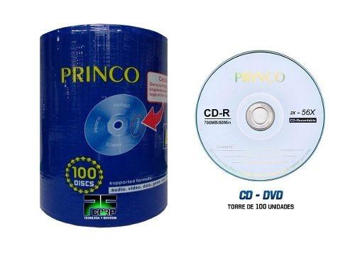 cd virgen princo original torre x 100 pcs