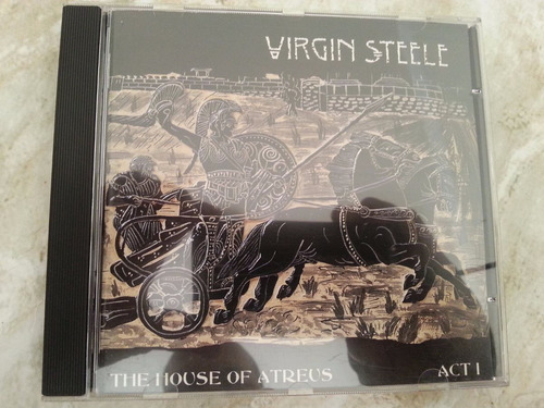 cd virgin steele the house of atreus impor. ja 85 frete12,00