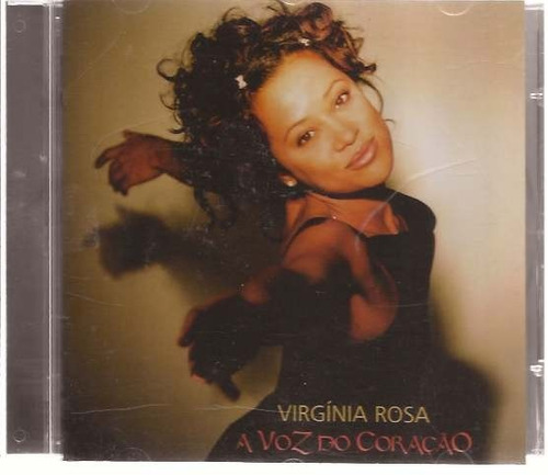 cd virginia rosa - a voz do coração - raro