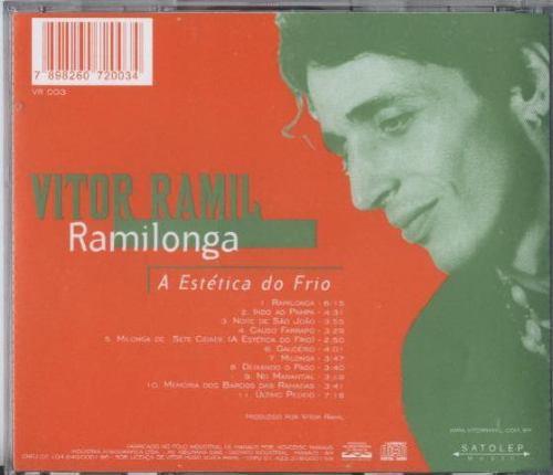 cd vitor ramil - ramilonga - a estética do frio - 1997