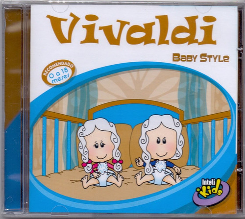 cd vivaldi - baby style - novo***