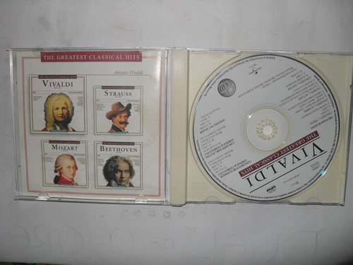 cd vivaldi - the greatest classical hits