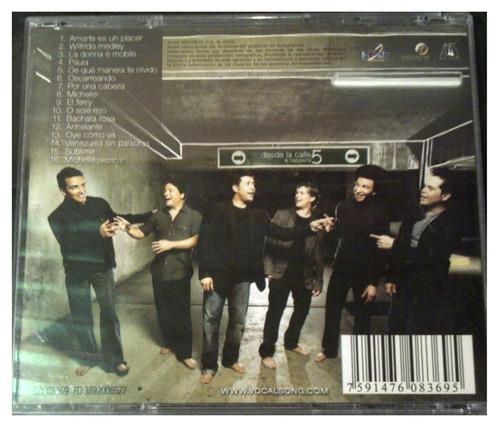 cd - vocal song - desde la calle 5 - 2008 - original