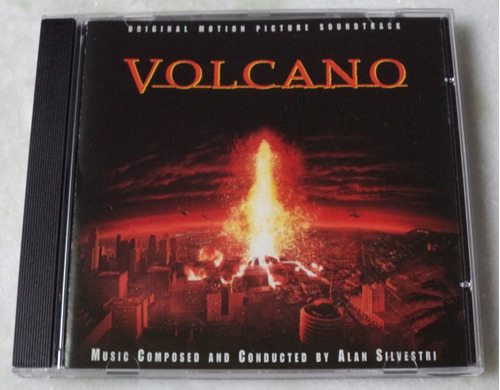 cd volcano trilha sonora importada