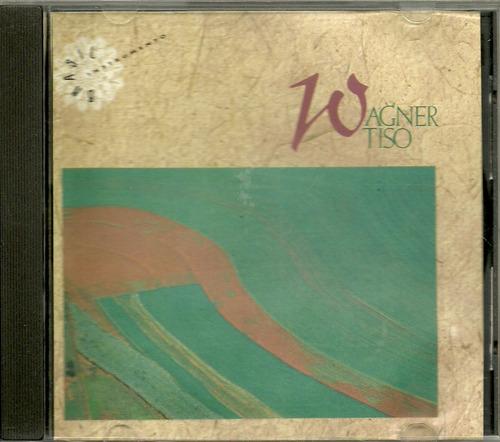 cd wagner tiso - 1990 - brasil instrumento - raro