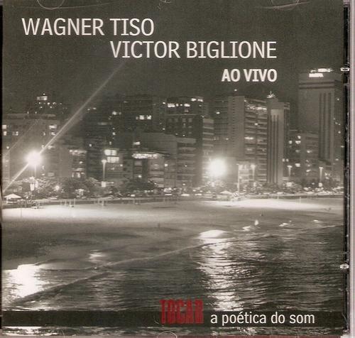 cd wagner tiso e victor biglione - ao vivo - novo***