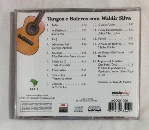 cd waldir silva tangos e boleros (jbn)
